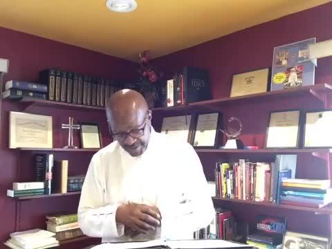 Dr. Therman E. Evans _ Resurrection Sunday Message