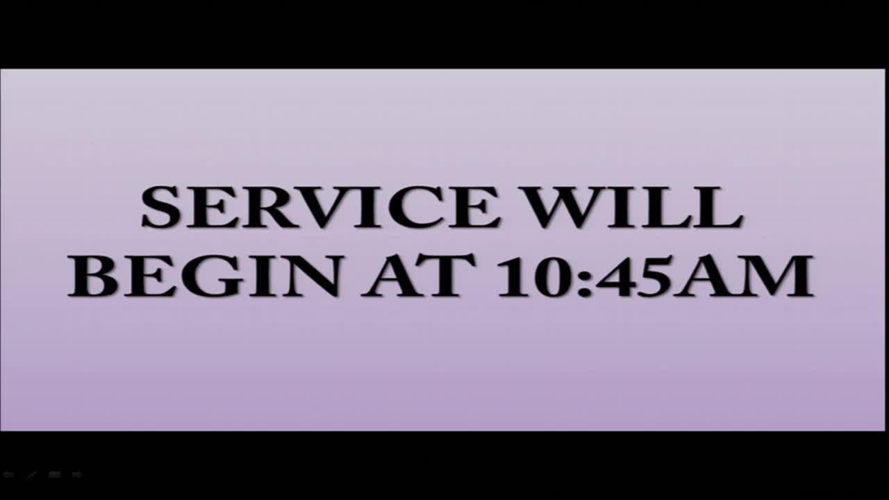 EBENEZER A.M.E. CHURCH Sunday Worship Service Live  on 29-Mar-20-14:27:22