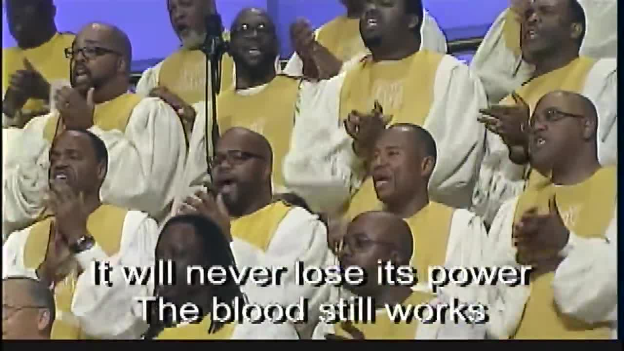 'The Blood Still Works' Anthony Brown & FBCG Combined Mass Choir