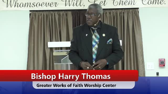 Greater Works of Faith Broadcast  on 27-Oct-19-17:23:03