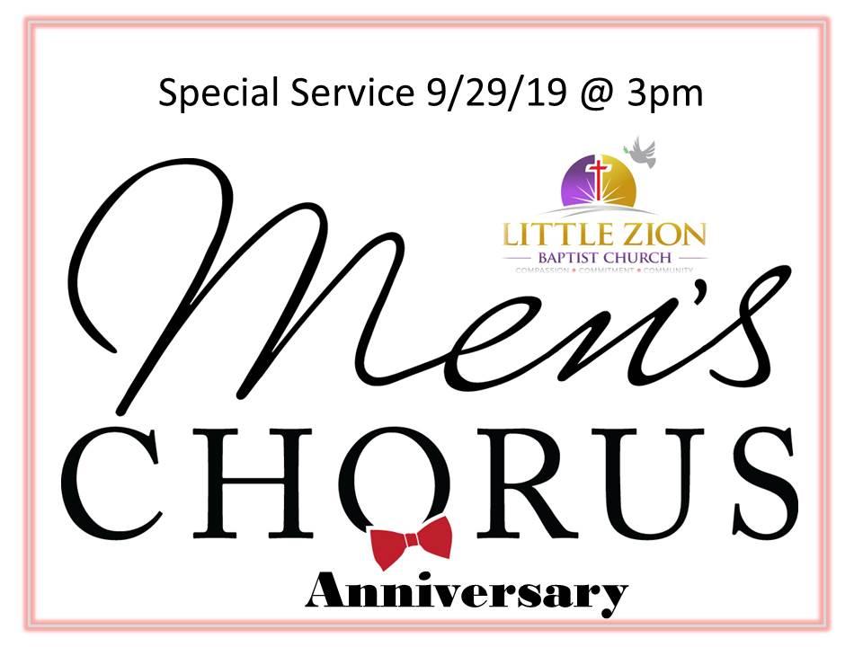 9-29-19 Men's Chorus Anniversary