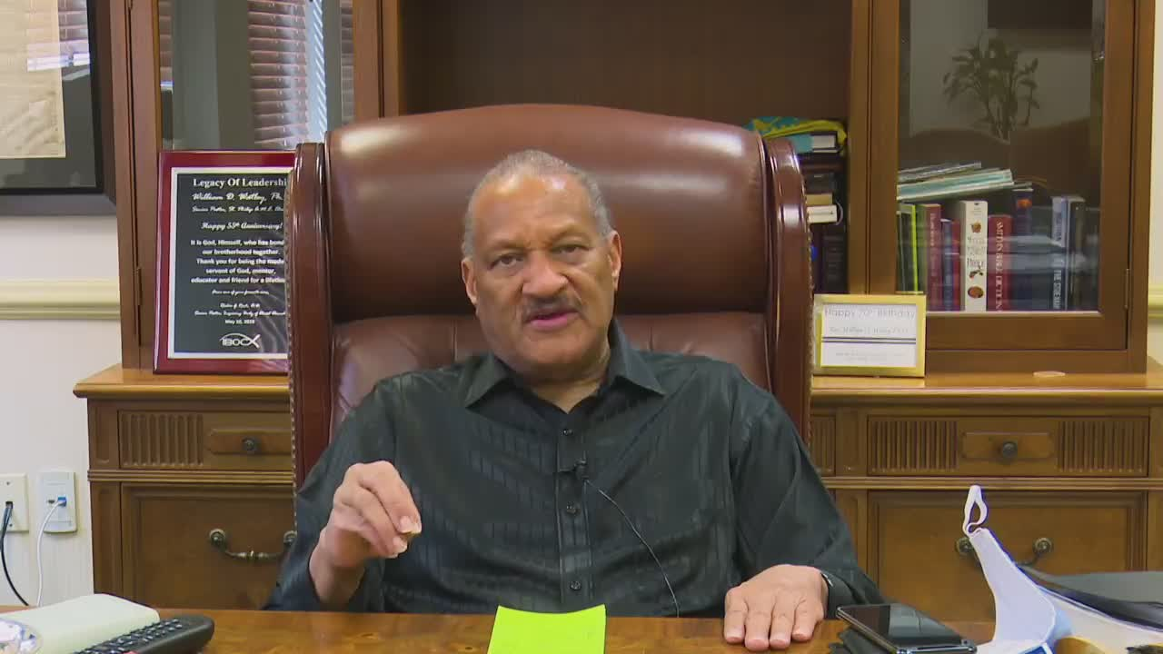 COVID-19 Update from Rev. William D. Watley, Ph.D.