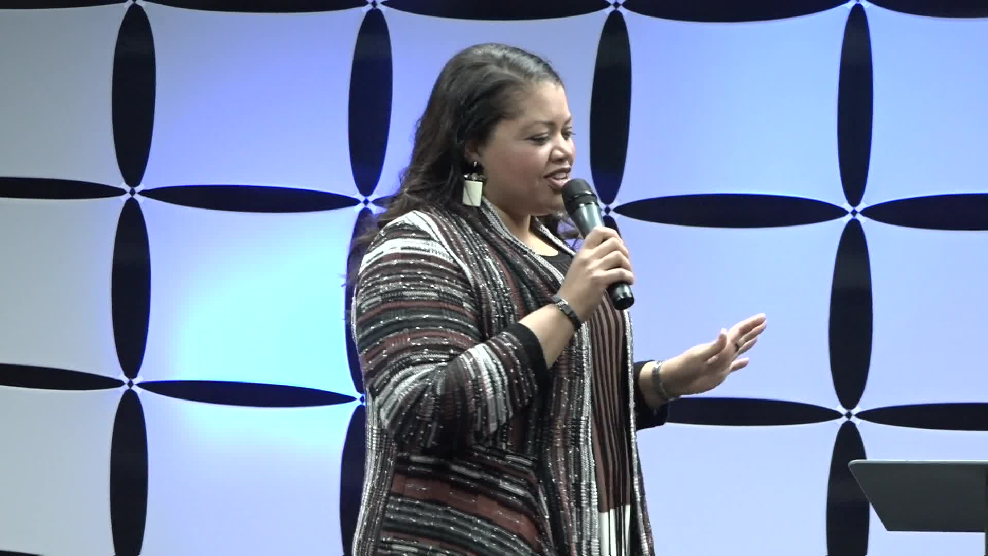 April Ripley at The Body of Christ Church International USA on 02-10-2019