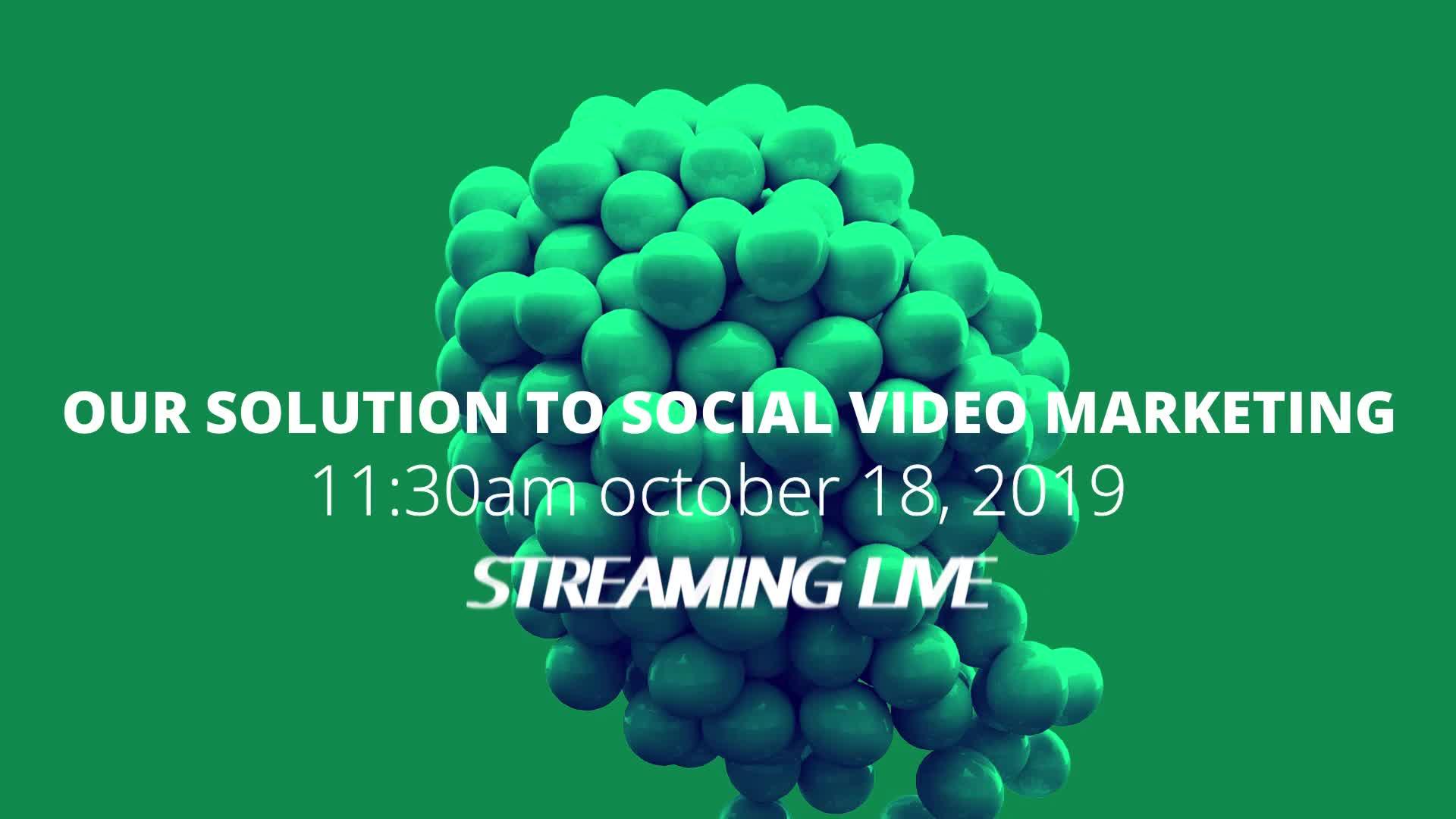 vidTvo Live Streaming Presentation