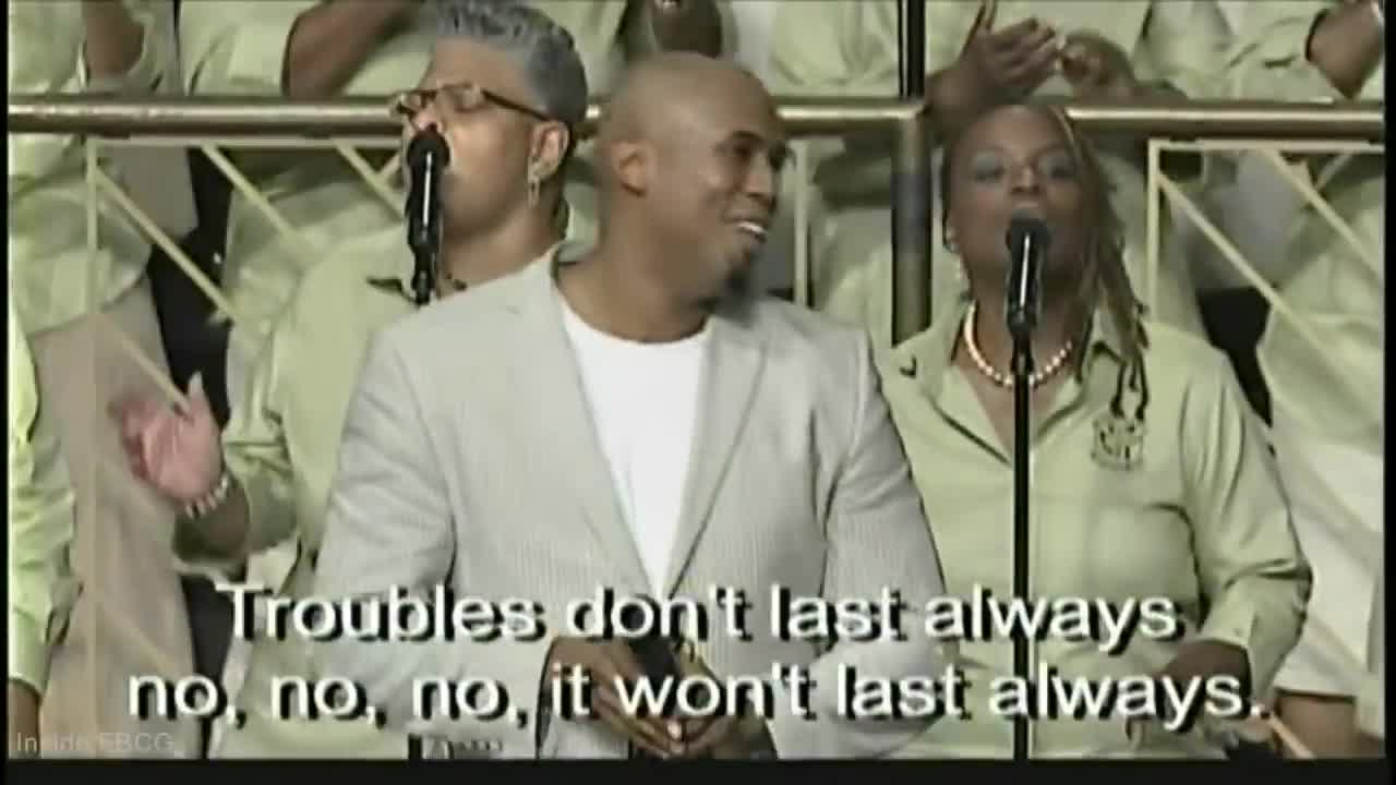 Trouble Don't Last Always Anthony Brown & FBCG Com